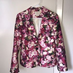 """Kate Spade"" Floral Blazer"